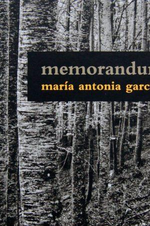 memorandum natura de María Antonia García de la Vega